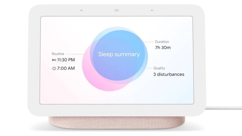 Nest Hub 2 - Google hilft dir neu auch beim Einschlafen