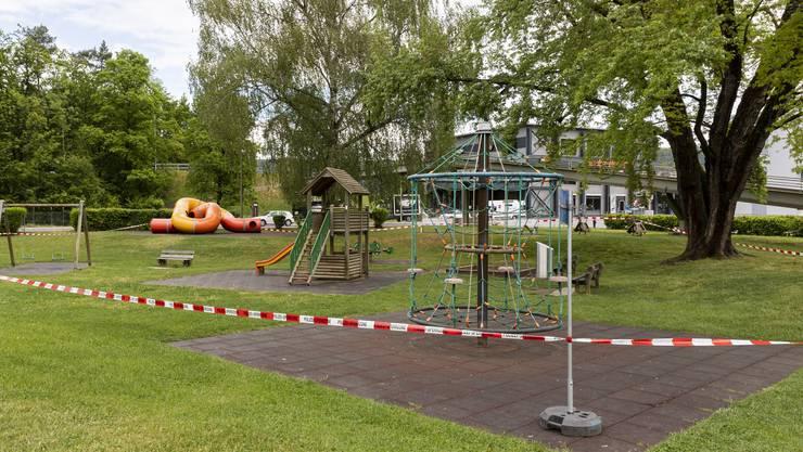 Am 1. Mai wird auch der Spielplatz Lozziwiese im Gjuch in Dietikon geöffnet. (Archivbild)