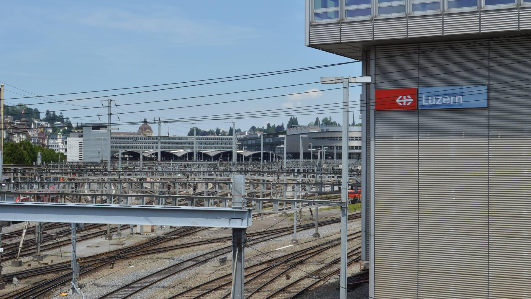 Bahnhof Luzern wird gesperrt