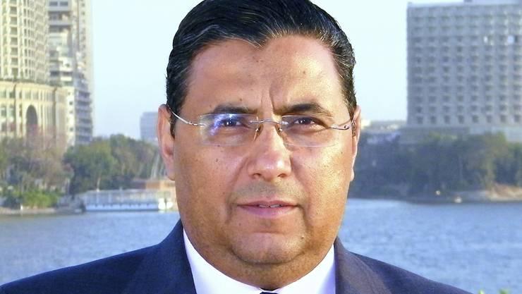 Der Journalist Mahmud Hussein vom Fernsehsender Al-Dschasira soll laut einem Gerichtsentscheid in Ägypten freigelassen werden. (Archivbild)