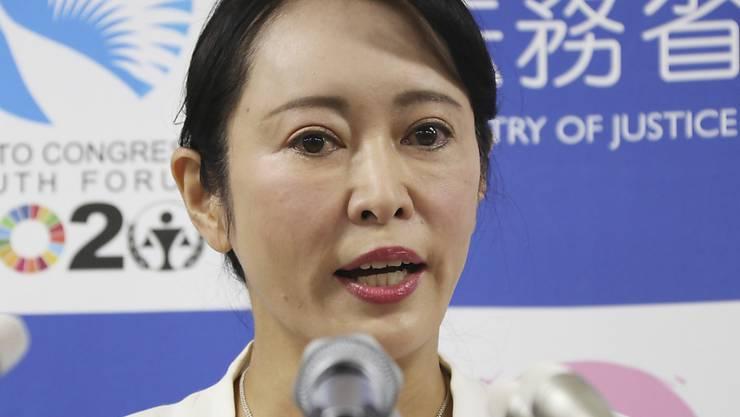 Die japanische Justizministerin Masako Mori hat am Donnerstag die Anschuldigungen des geflohenen Managers Carlos Ghosn am Rechtssystem ihres Landes zurückgewiesen.