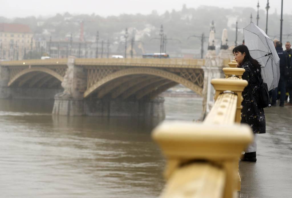 Bootsunfall Budapest (© Keystone)