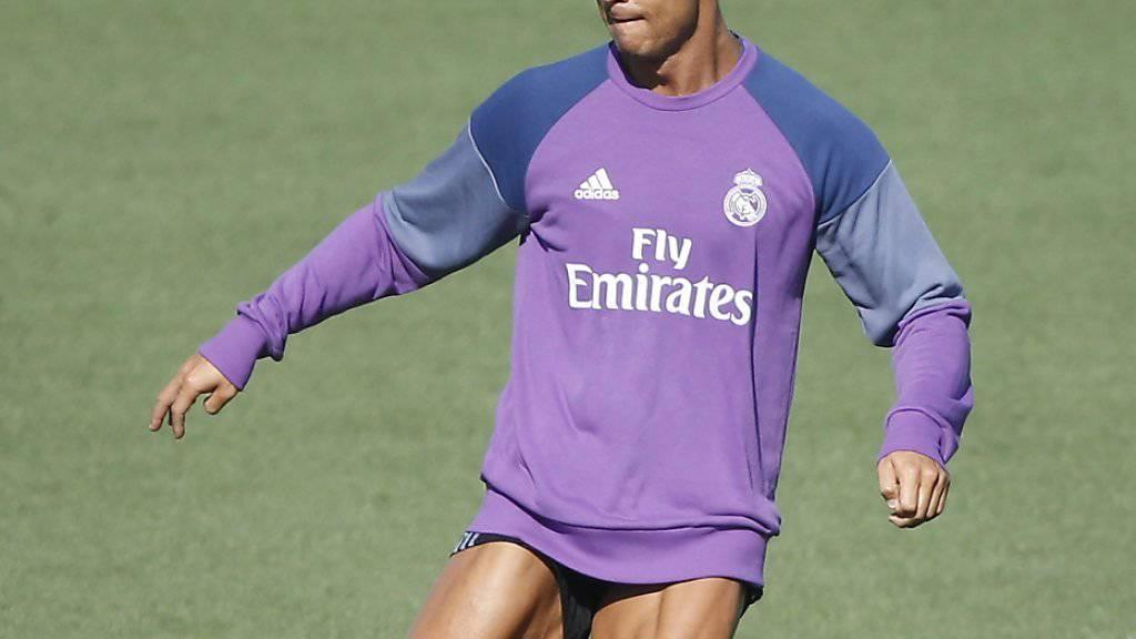 Cristiano Ronaldo wird bei der Wahl zu Europas Fussballer des Jahres favorisiert.
