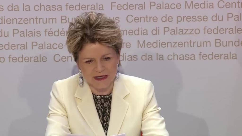 Komplette Pressekonferenz des Bundes vom 4. April 2020