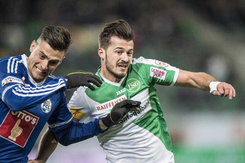 März 2017 im Kybunpark gegen den FC Luzern (© Keystone)