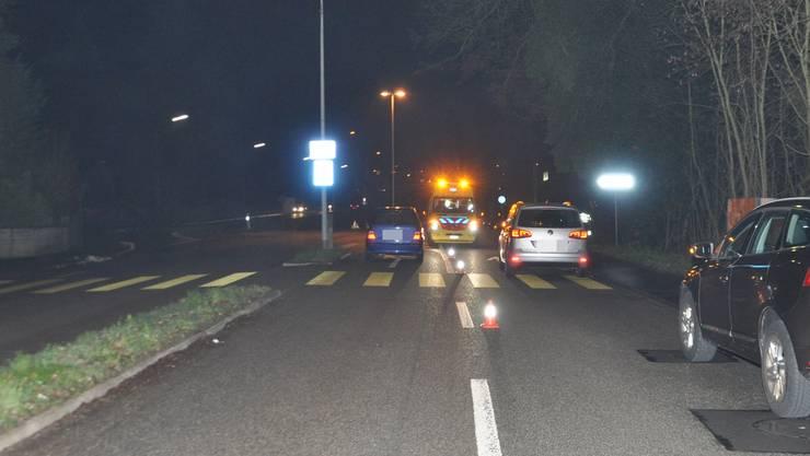 Dunkelheit und schlechte Sicht erhöhen das Risiko für Fussgängerunfälle. (Symbolbild)