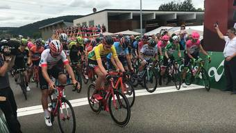 Tour de Suisse in Gansingen