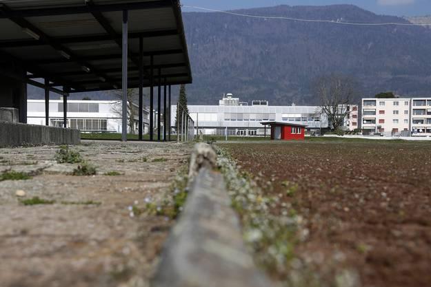 Röbi Gilomen wünscht sich für das neue Stadion auch eine Kunststoff-Bahn.