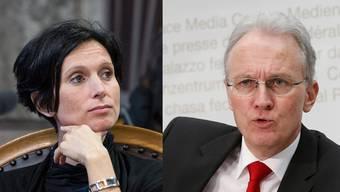 Pascala Bruderer und Hans-Ulrich Bigler debattieren über die Altersreform 2020.