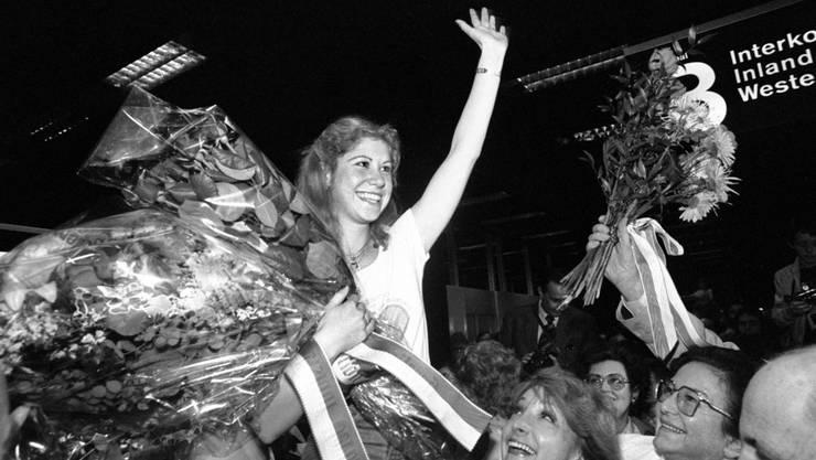 Sie schrieb Schweizer Sportgeschichte: Denise Biellmann ist für Swiss Sports History als Botschafterin im Einsatz: