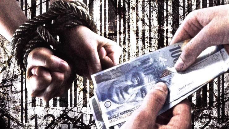 Menschenhandel gibt es heute noch in Europa, in der Schweiz