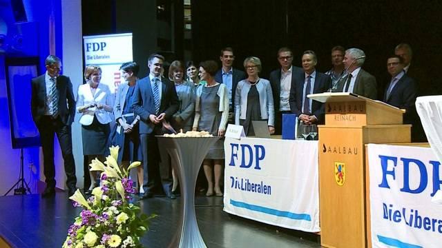 Getrübte Stimmung bei der Aargauer FDP: Am Dienstagabend nominierte die Partei ihre Nationalratskandidaten. Geredet wurde aber vor allem über den Fall Markwalder.