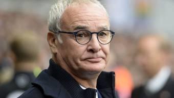 Zwar zum zweiten Mal in Folge ohne Gegentor, aber noch immer mitten im Abstiegskampf: Leicesters Trainer Claudio Ranieri