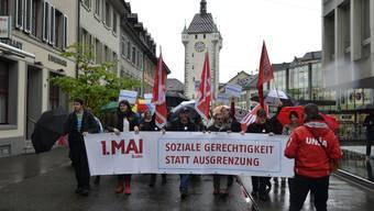 1. Mai Demo in Baden