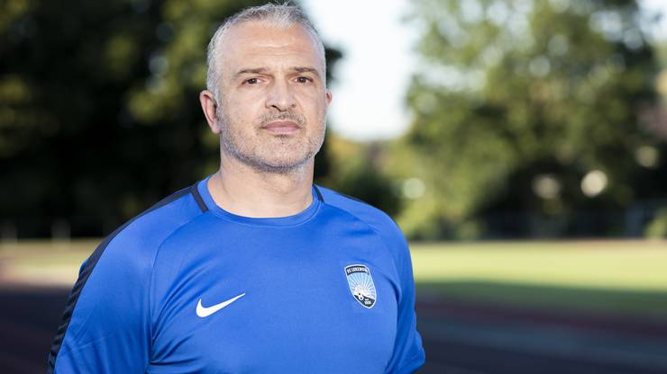 Samuel Drakopoulos, Trainer FC Lenzburg