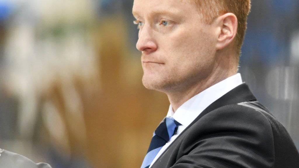 Gordie Dwyer wird Trainer von Dynamo Minsk
