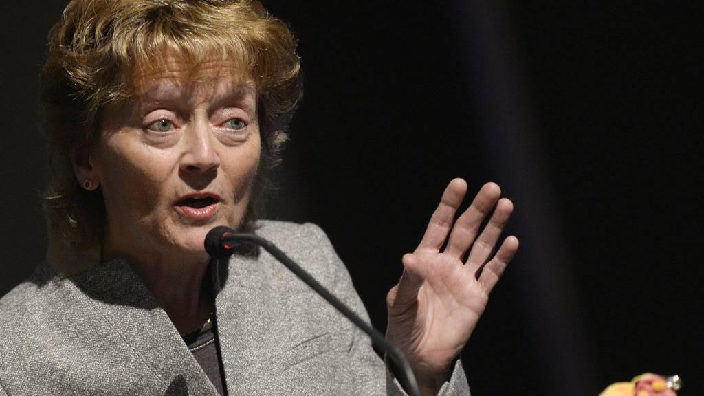 Gibt Eveline Widmer-Schlumpf heute ihren Rücktritt bekannt?