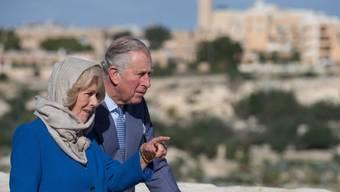 Prinz Charles und seine Frau Camilla besuchen im November die Golfstaaten, nachdem vor einem Jahr ein Besuch in Malta (Bild) auf dem Programm stand.