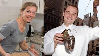 Brigitte Humm und ihr mittlerweile berühmter Sohn Daniel Humm.