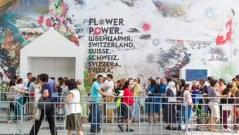 Schweizer Pavillon Weltausstellung Kasachstan Expo