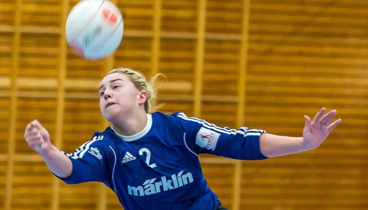 Um jeden Ball gekämpft - Jaqueline Fedier und ihre Teamkolleginnen vom STV Oberentfelden-Amsteg haben alles versucht und standen am Ende trotzdem mit leeren Händen da.