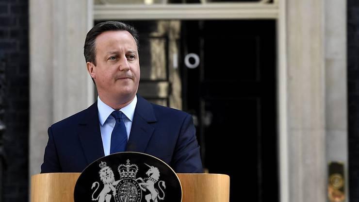 Premierminister Cameron: Wer sein Amt übernimmt, soll am 2. September entschieden werden.