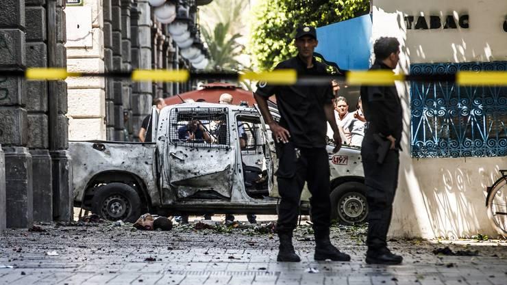 Die Anschläge galten der Polizei.