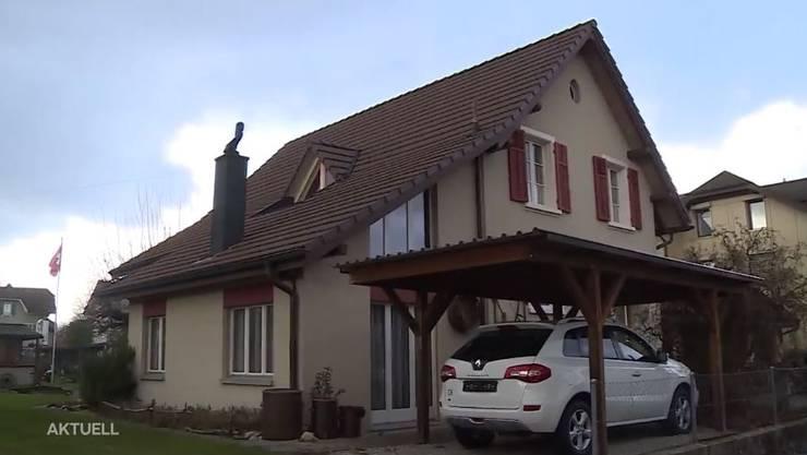 In diesem Haus an der Metzgergasse in Derendingen kam es zur Bluttat