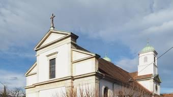 Die Stadtkirche Olten wurde frisch renoviert.