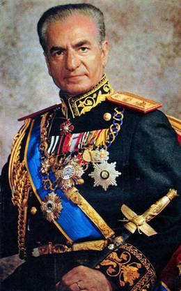 Muhammed Reza Pahlavi, Schah von Persien.