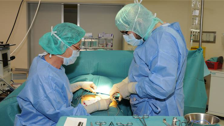 Eingriff am Medizinischen Zentrum Brugg.