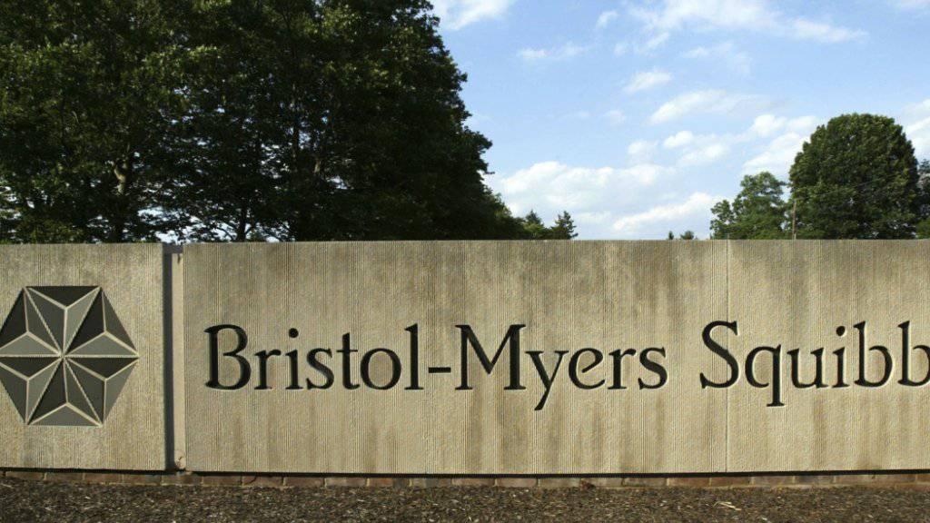 Mega-Deal: Das US-Pharmaunternehmen Bristol-Myers Squibb will für 74 Milliarden Dollar den Biotechkonzern Celgene übernehmen. (Archiv)