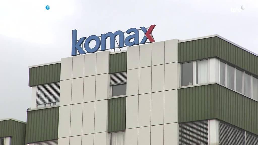 Komax baut 10 Prozent der Stellen ab