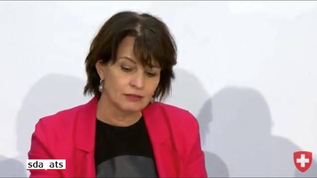 Bundesrätin Leuthard zur Finanzierung