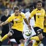 Doppel-Torschütze für YB gegen Eintracht Frankfurt: Gianluca Gaudino (li.)