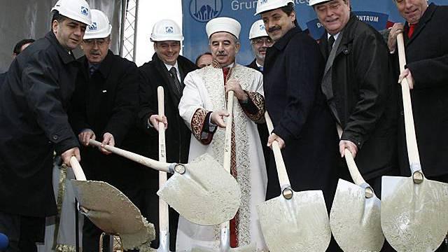 Grundsteinlegung für die Moschee in Köln