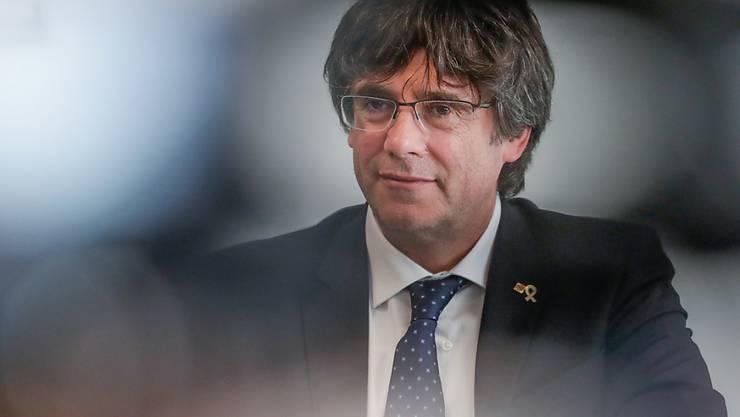 Ex-Regionalchef Carles Puigdemont ist aus Spanien geflüchtet.