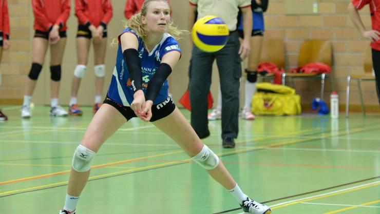 Laura Künzler und Sm'Aesch-Pfeffingen gewinnen gegen Volley Toggenburg mit 3:0.