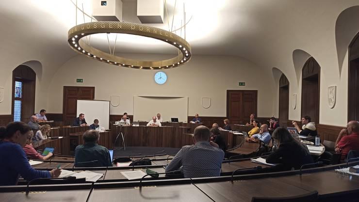 Gemeinderatsitzung der Stadt Solothurn im Kantonsratsaal (17. Juni 2020)