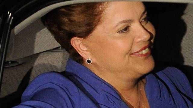 Strahlende Dilma Rousseff