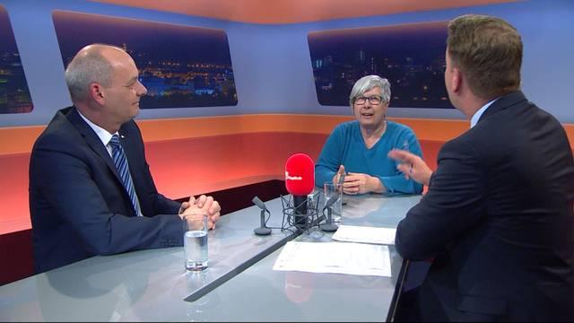 Safenwil wehrt sich gegen Container-Siedlung für Flüchtlinge – sehen Sie hier die ganze Sendung «TalkTäglich» zum Thema
