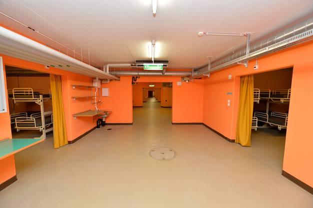 In der geschützten Operationsstelle unterhalb  des Alten Spitals wird ein Durchgangsheim für maximal 100 Personen eingerichtet.
