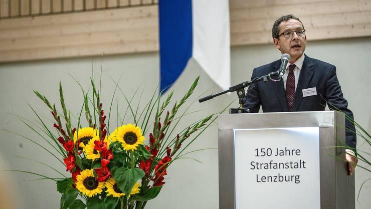 Der Aargauer Justizdirektor Urs Hofmann.