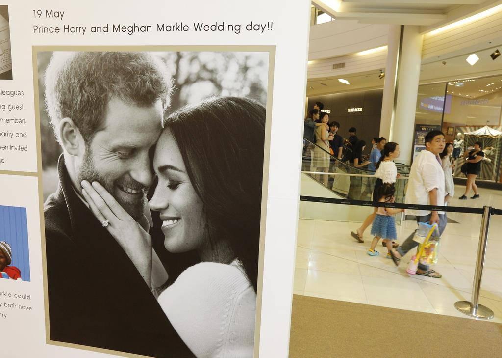 Vorbereitungen royale Hochzeit (© Keystone)