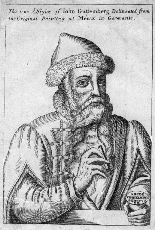 Johannes Gutenberg gilt als Erfinder des modernen Buchdrucks (© GettyImages)