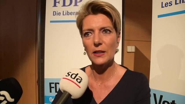 Bundesratskandidatur: Karin Keller-Sutter im Interview