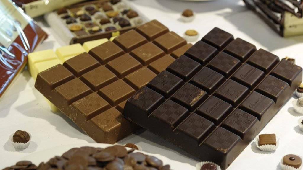 Süsses Geschäft: Der Schokoladehersteller Barry Callebaut bleibt auf Wachstumskurs. (Archivbild)