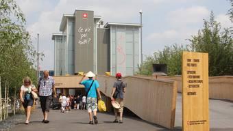 Das Brugger Architekturbüro Netwerch hat den Schweizer Pavillon mit den vier Türmen für die Expo Milano entworfen. (2).jpg