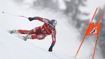 Aksel Lund Svindal kam am besten mit der ungewohnten Streckenführung klar.Keystone