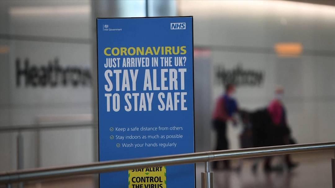 Grossbritannien: Quarantänepflicht für Einreisende in Kraft getreten
